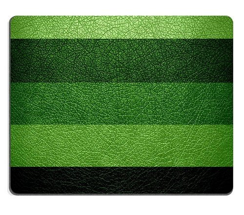 Natural Rubber Gaming Mousepad Green Leather Texture Background (Dragon Green Leather)
