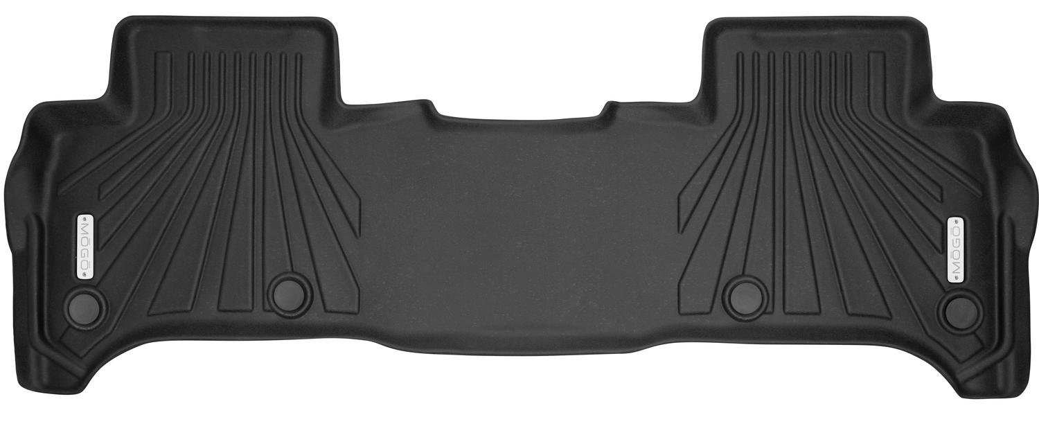 MOGO 70341 Black Floor Liners Second Seat Fits 13-18 Land Range Rover Sport