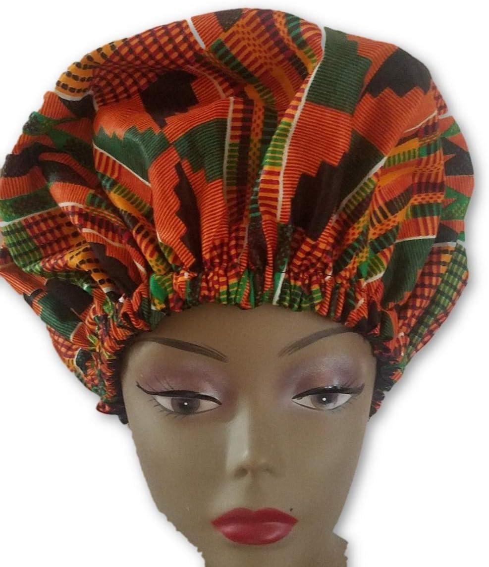 K156 african fabric per yard orange yellow red green kente kente Wax print kente cloth Materialhead wrap