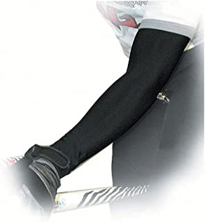 product image for Pace P3+ PolyPro Cycling Arm Warmer (Black, Medium)