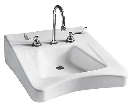 Brilliant Mansfield Plumbing 315 8 Wheelchair Ada Wall Mount Bathroom Home Interior And Landscaping Oversignezvosmurscom