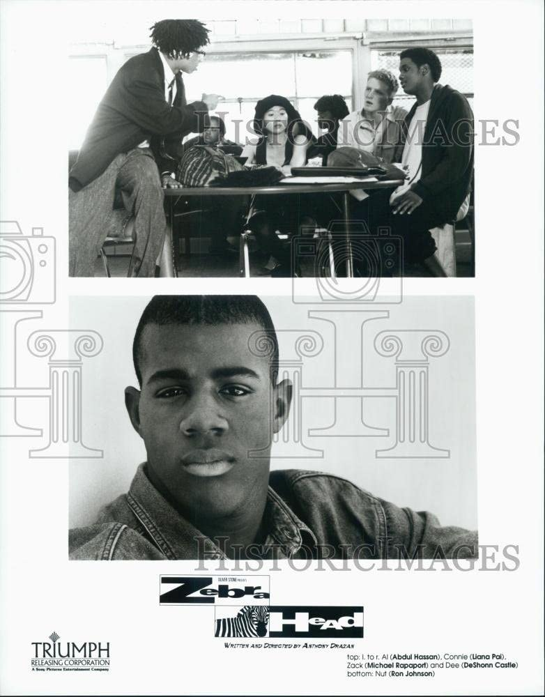 1992 Press Photo Actor Abdul Hassan, Liana Pai, Ron Johnson ...