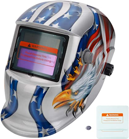 Arc Welding Helmets for Protection of Eyes /& Face from Harmful Radiations