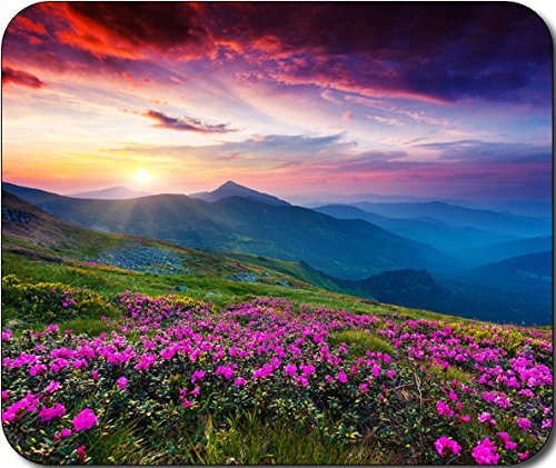 mouse pad flowers - 4