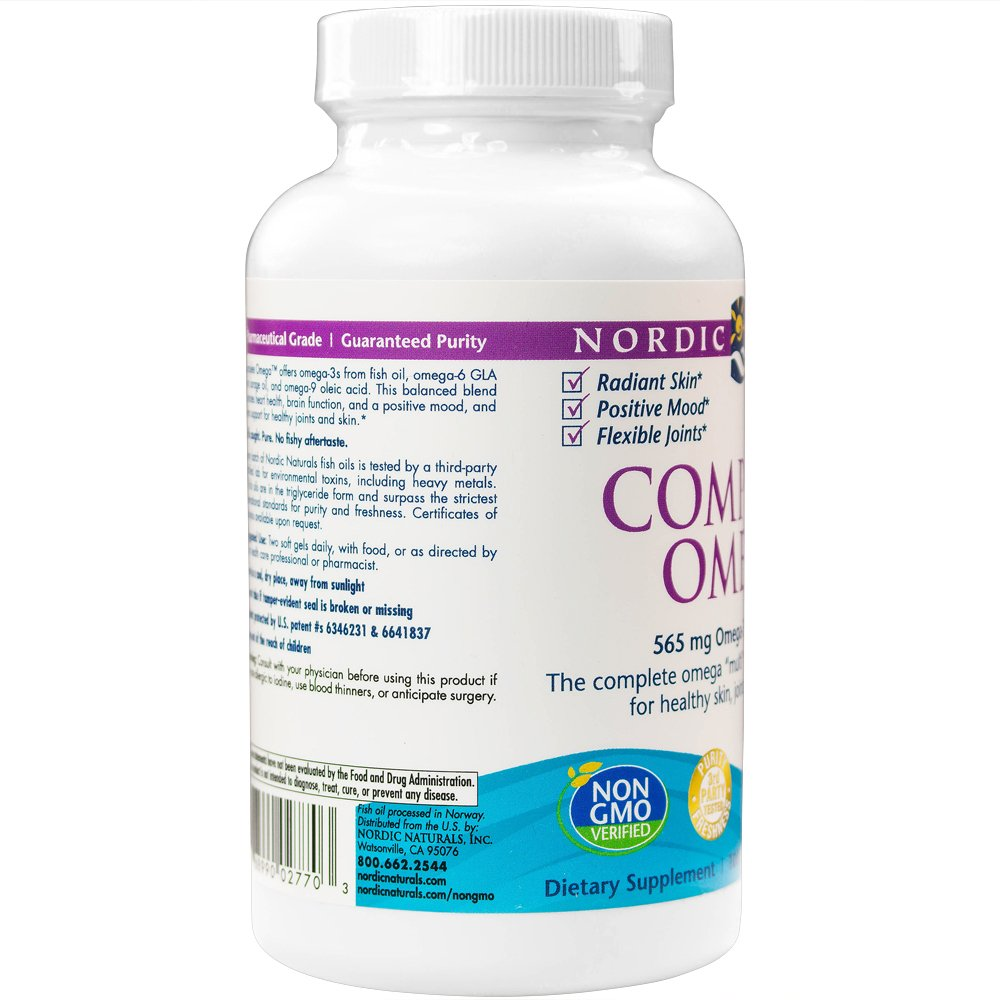 Nordic Naturals - Complete Omega, Supports Healthy Skin, Joints, and Cognition, 120 Soft Gels (FFP) by Nordic Naturals (Image #6)