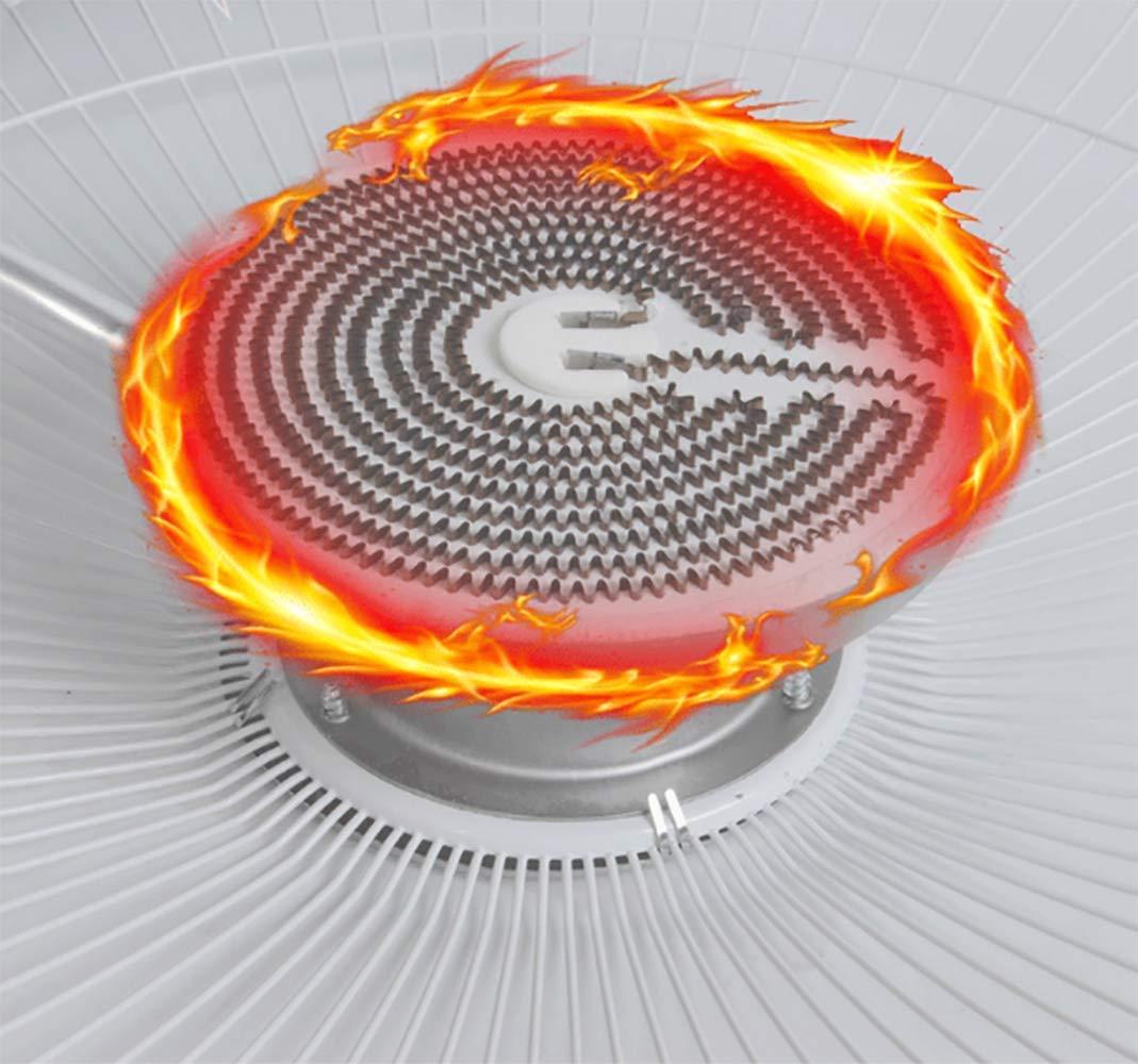 NFNF Hogar Calentador Eléctrico Pequeña Mesa De Sol Calentador Parrilla Estufa Eléctrica,Orange,Orange: Amazon.es: Deportes y aire libre