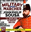 "Military Marches - Complete Collection Vol. 2 - John Philip Sousa - 2 CD - 40 Marches 1889-1916 - U.S. Marine Band - Digital Recordings by ""The President's Own"" United States Marine Band John Philip Sousa"