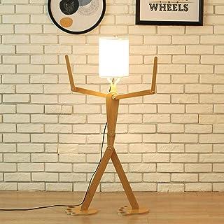 Wood Color Modern Creative Lighting Hotel Bedroom Room Living Room Floor Lamp Adjustable Posture
