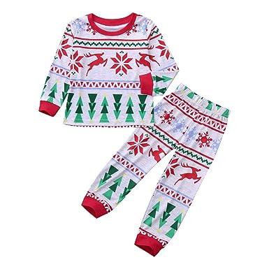 41ad9587ffc K-youth Ropa Bebe Niño Invierno 2018 Ofertas Infantil Navidad Copo de nieve  Árbol de