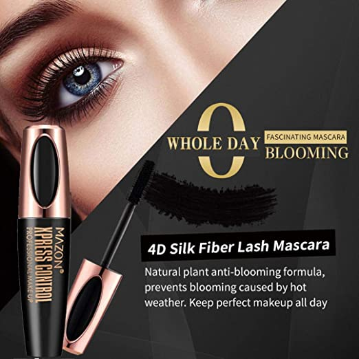 Amazon.com : Fiber Mascara Waterproof Smudgeproof Hypoallergenic ...