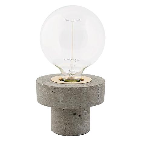 House Doctor - Lámpara de mesa, diseño de hormigón: Amazon ...