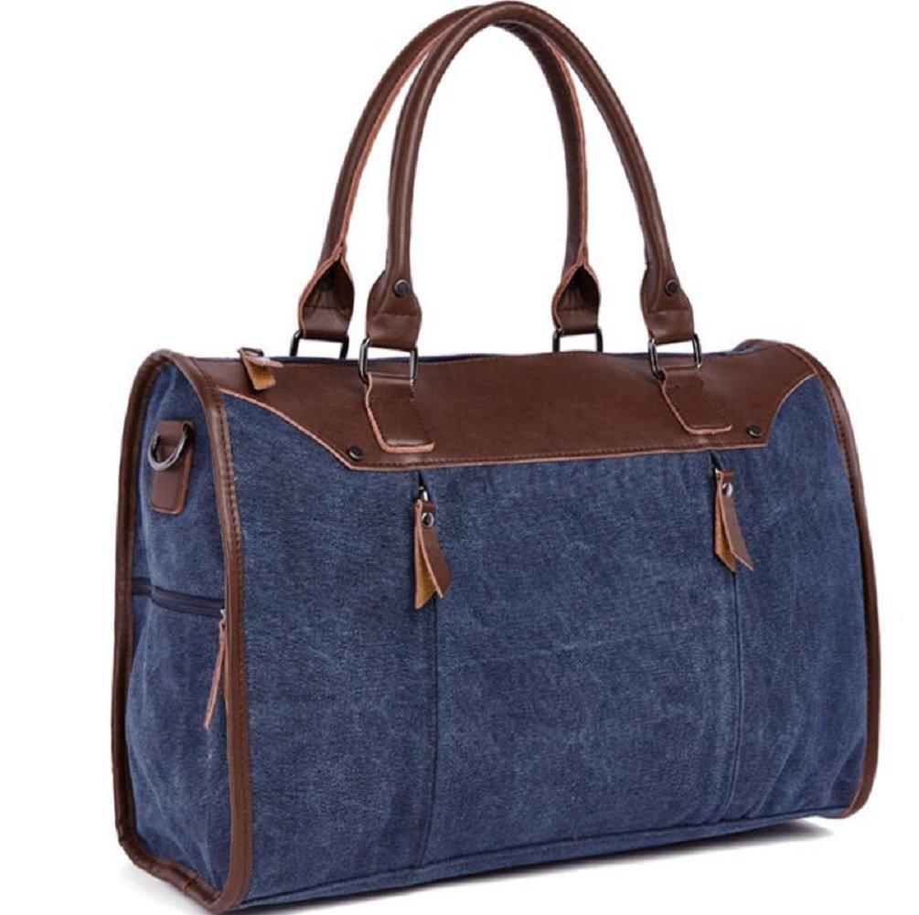 ZC&J Outdoor-Segeltuchhandtasche, große Kapazität beiläufige beiläufige Schultermänner und Frauen allgemeiner wandernder Beutel, schroffe tragbare Handtasche