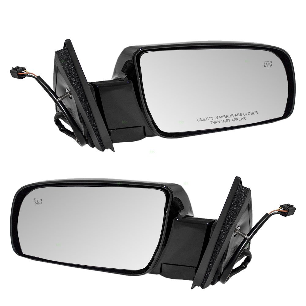 Driver And Passenger Power Side View Mirrors Heated 1979 4x4 Chevy Trucks Silverado Fuse Diagram Replacement For Chevrolet Cadillac Gmc Pickup Truck 15764747 15764748 Automotive
