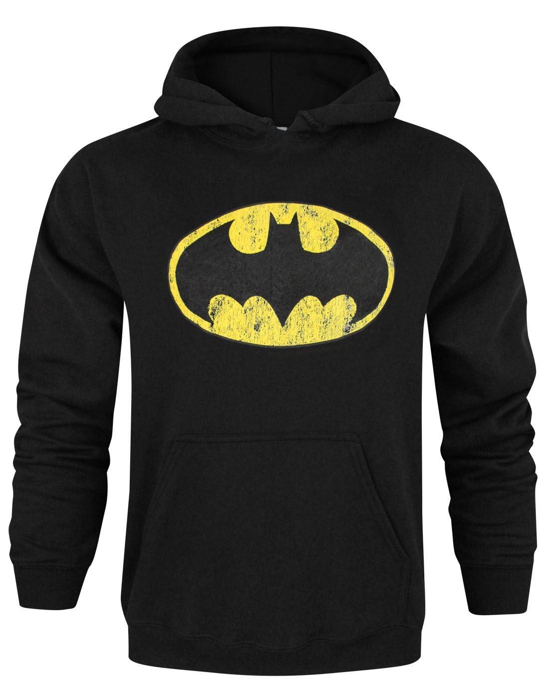 Official Batman Distressed Logo Men/'s Vest