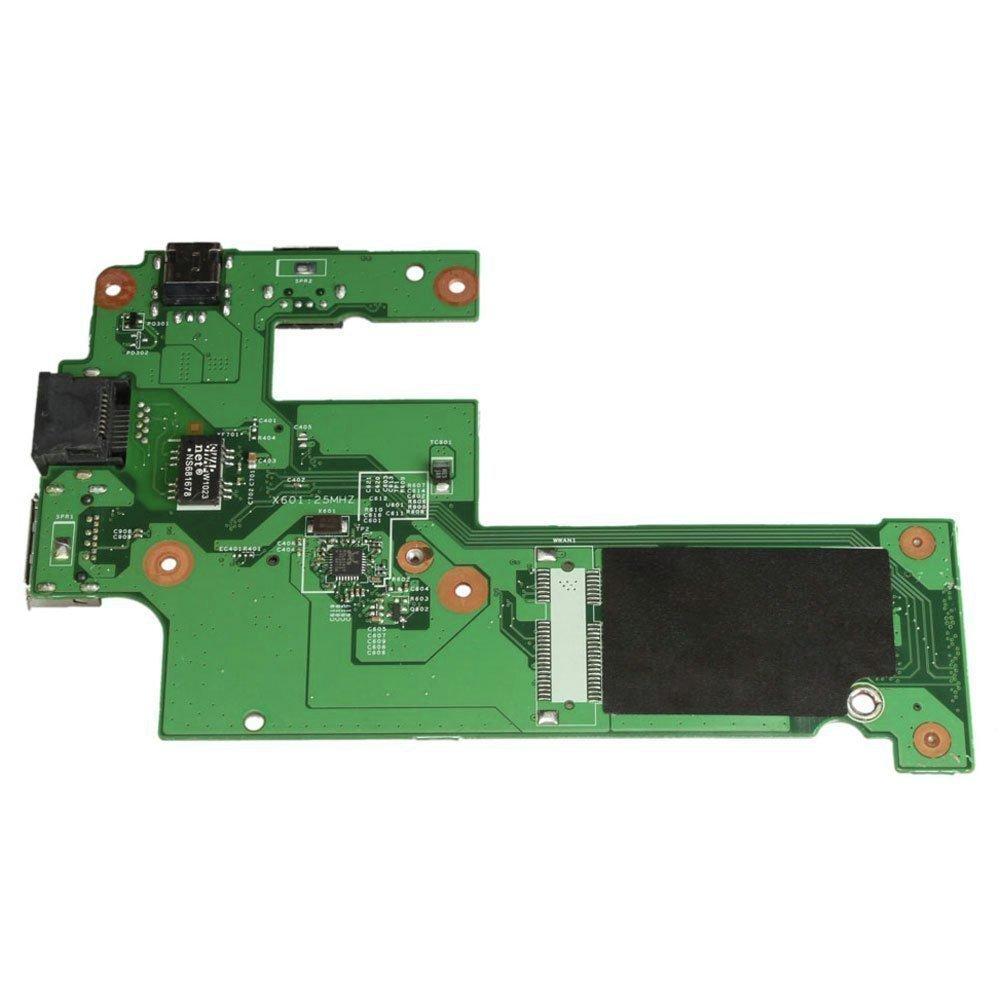 New Compatible DELL Inspiron N5010 M5010 15R DC Power Jack USB ESATA IO Board DG15 48.4HH02.011