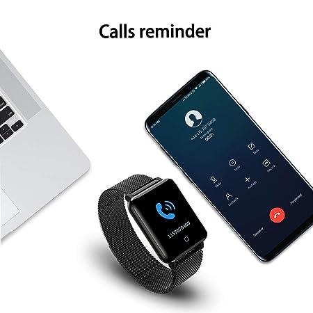 tianranrt M19 Smart Pulsera Watch Sport podómetro Frecuencia Cardíaca Dormir Monitor de Presión Arterial, Negro: Amazon.es: Bricolaje y herramientas