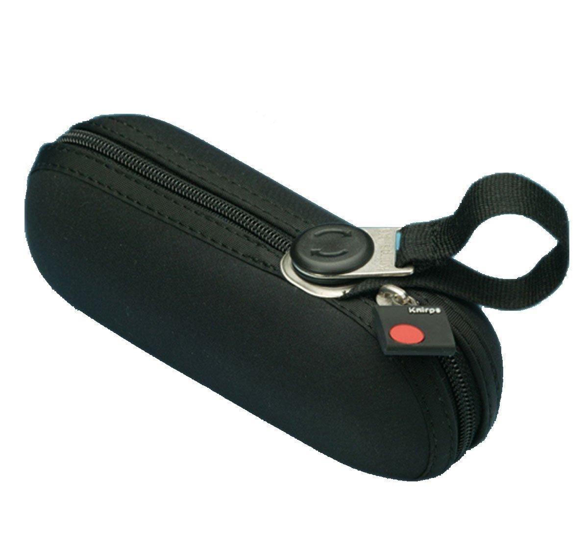 Knirps X1 - Paraguas plegable, color negro [Importado de Alemania] 106906-S