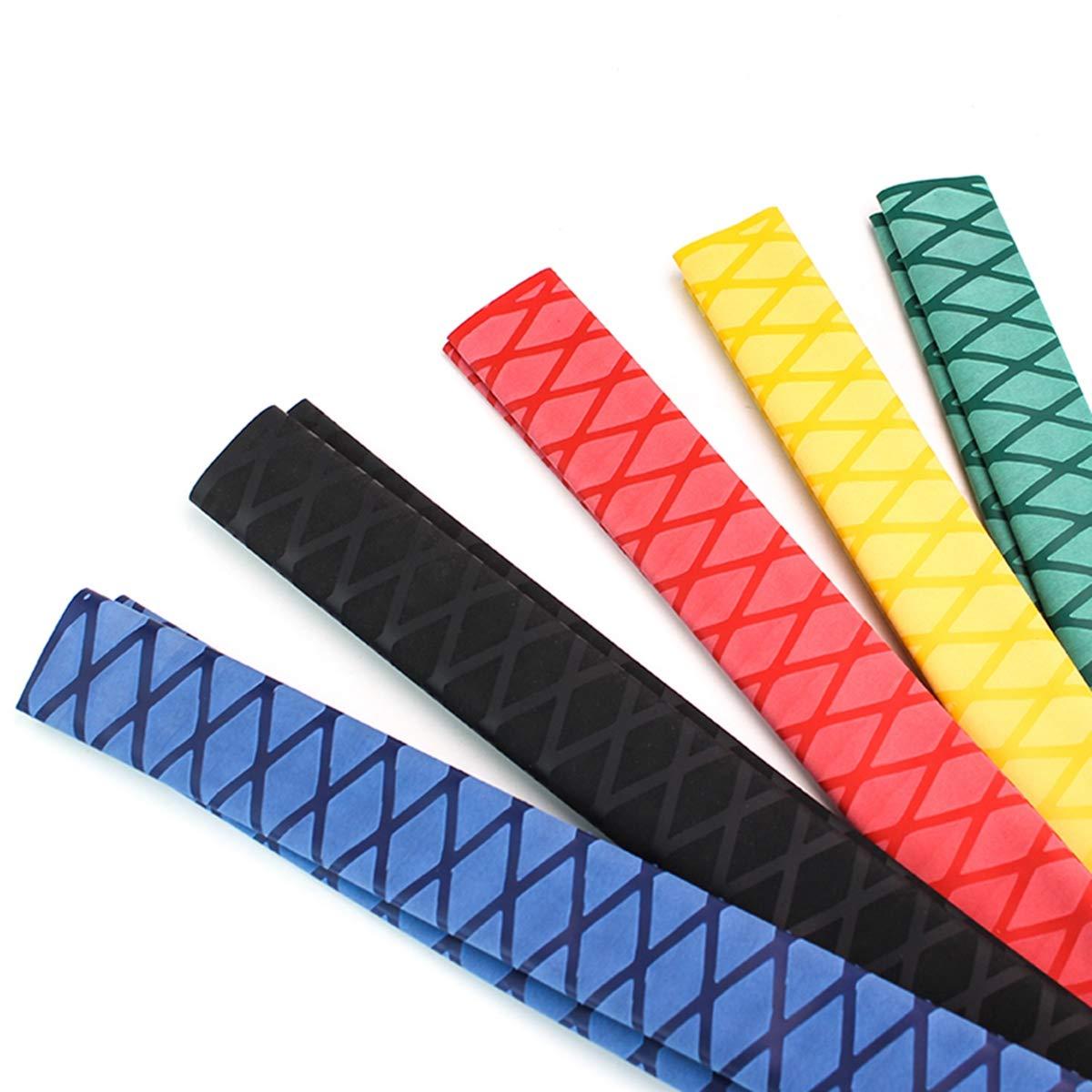 Blau 15mm 1M 15//18//20//22//25//28//30//35//40 50mm Angelrute Griffige Schrumpfschlauch Diy Isolation Kit