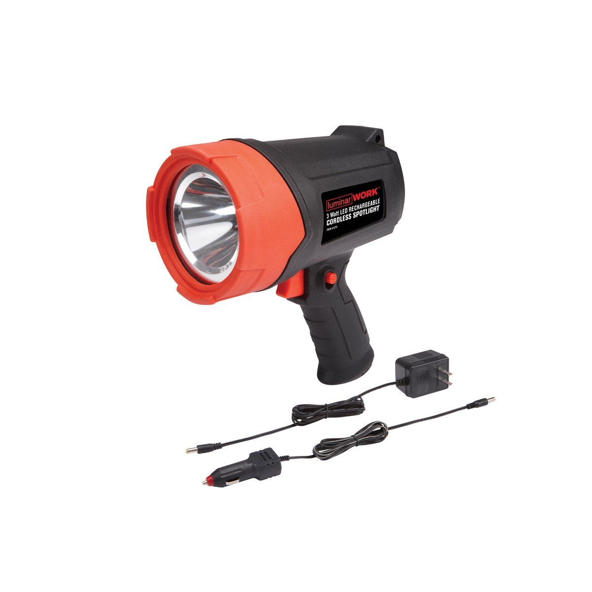 3 Watt LED Rechargeable Cordless Spotlight from TNM by Luminar Work
