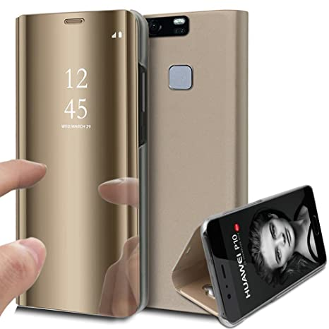 Cell Phone Accessories Cases, Covers & Skins Etui Folio A Rabat Huawei P9 Flip Cover Eco-cuir pu