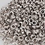 3/8'' #2 Nickel Grommets and Washers 1000 Package II by KOVAL INC.