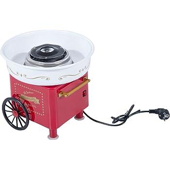 Eine Zuckerwattemaschine bekommen Sie auch in einem interessanten Vintage Design.