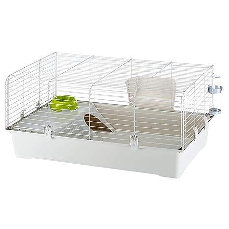 Ferplast Rabbit 100 hábitat de Conejo Jaula, Sistema de ...
