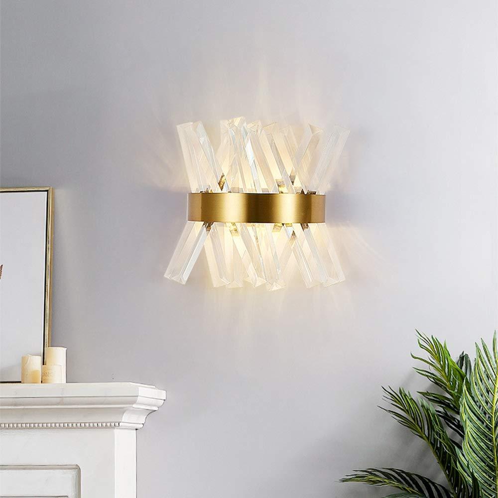 Amazon.com: TOMSSL Crystal Wall Lamp Light Nordic Modern ...