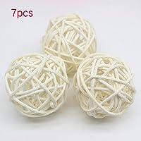 Hinmay 7 piezas de bola de ratán