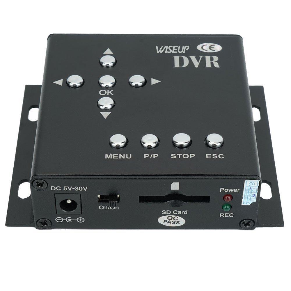 WiseupTM 1Ch D1 Realtime Mini SD Card Car DVR Vehicle Mobile DVR