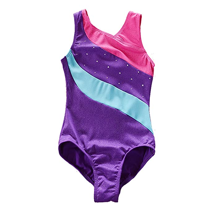 6fcfb27b4b53 Amazon.com  SanReach Girls Metallic Sparkle Stripes Athletic ...