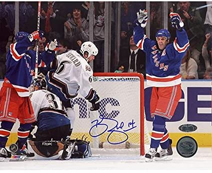761d5d1e1c1 Brendan Shanahan Celebrates Career Goal #600 16x20 at Amazon's Sports  Collectibles Store