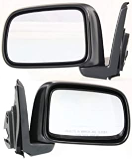 New GM1321240 Manual Remote Right Non-Heated Mirror for Pontiac Grand Am 99-2001