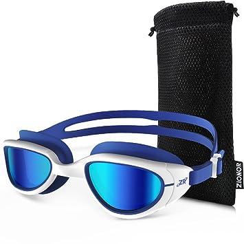 ZIONOR G6 Gafas de natación Anti-niebla y Protección UV Estanco para Hombres Unisex Adulto