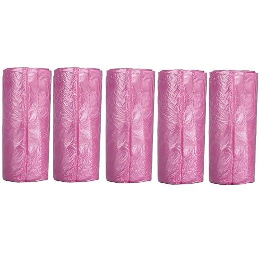 VADOO Griff-Tie - Bolsas de Basura pequeñas de plástico para ...