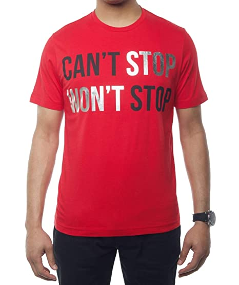 fc24f17a189dc Sean John Men s Can t Stop Won t Stop Graphic Print T-Shirt. Can t ...
