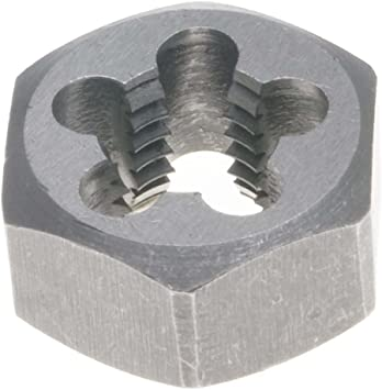 Pack of 1 Drill America DWT Series Qualtech Carbon Steel Hex Threading Die M24 x 1.5 Size