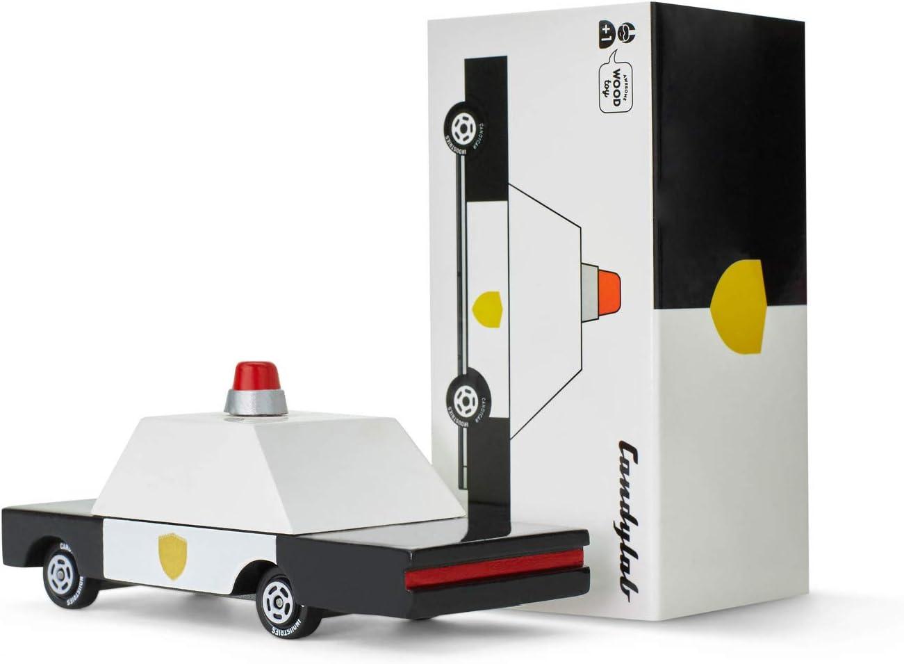 Special Edition Collaboration. Candylab X Waytoplay City Block Set 2 Beech Wood Candycars /& 12-Pieces Modular Road Set