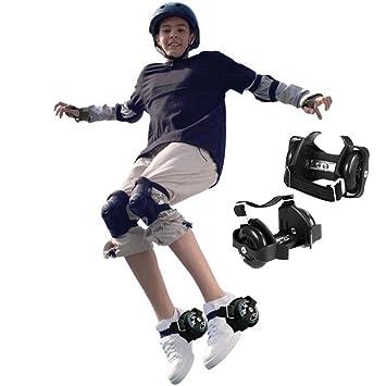 Qulista Flashing Roller Patines Dos Ruedas Luminosas para Zapatos Juguetes y Juegos para Niños Más de 6 Edad(EU Stock) (Sin Luz): Amazon.es: Deportes y ...