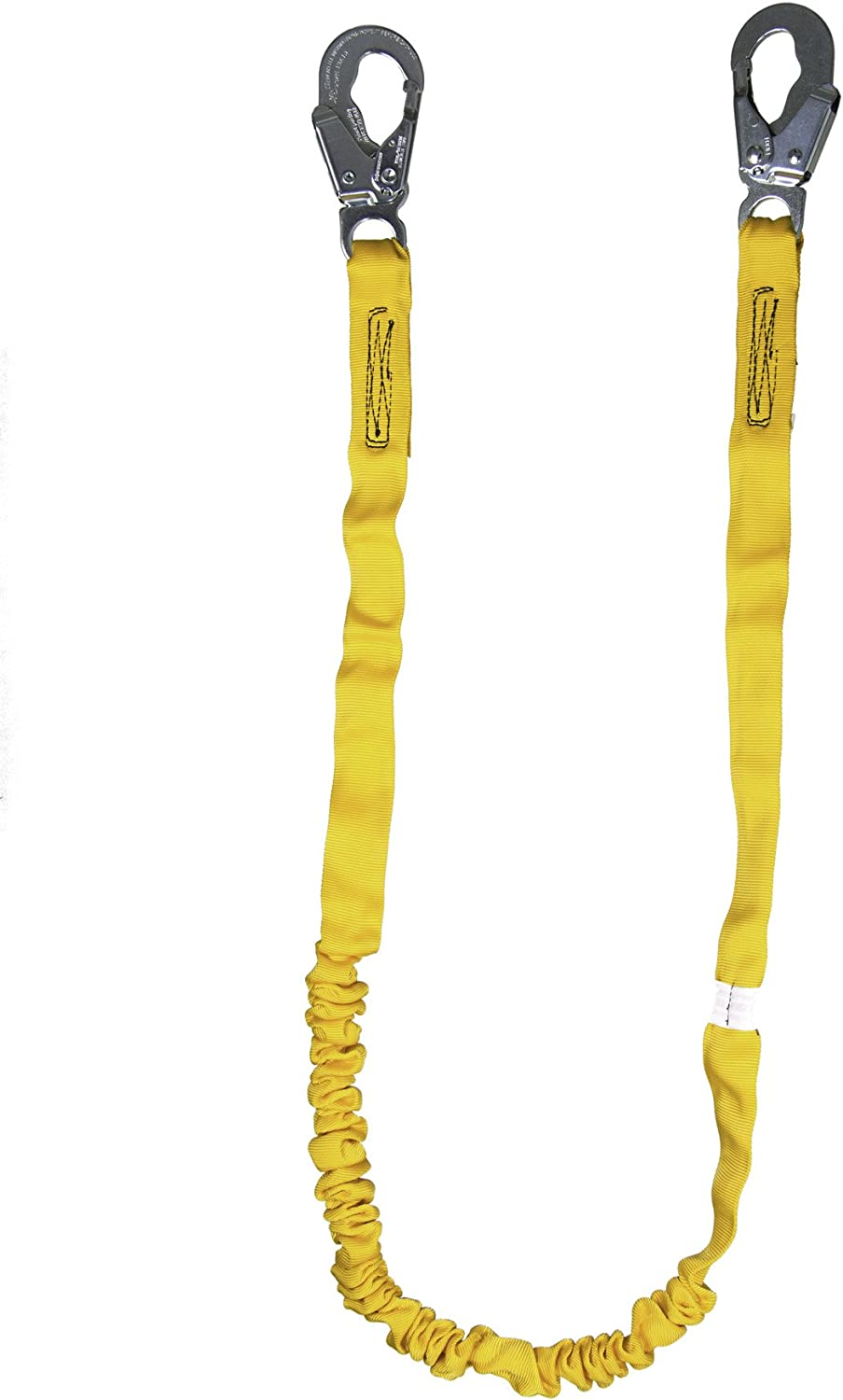 Guardian Fall Protection 11200 IS-72 6-Foot Internal Shock Lanyard with snap hooks - Fall Arrest Restraint Ropes And Lanyards -