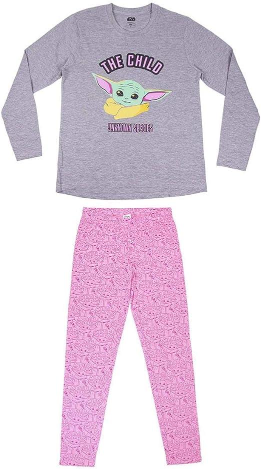 Cerdá - Pijama The Mandalorian Mujer - Licencia Oficial Star ...