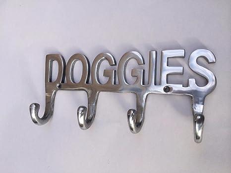 Perchero para correas de perro, 4 ganchos, diseño con ...