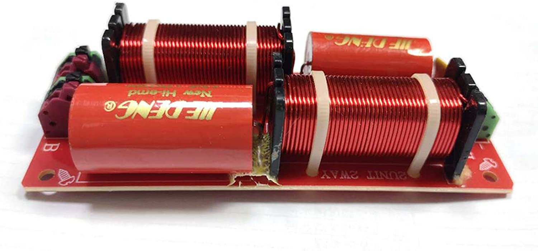 balikha Crossover con Filtro Crossover Audio Altoparlante con Divisore di Frequenza a 2 Vie 150W