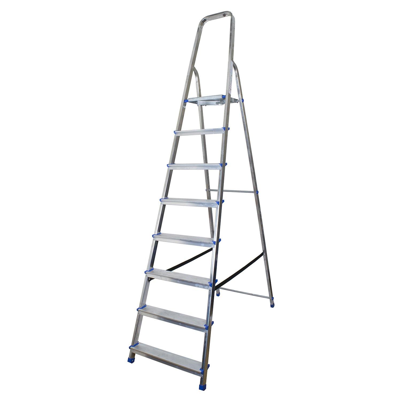 Abbey Aluminium Platform Step Ladder 8 Tread Abbey Ladders