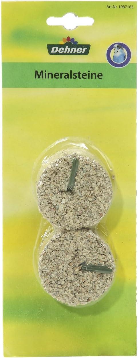 Piedra Mineral pequeña de Dehner, 1 x 2 Unidades, Paquete de 1 x 160 g.