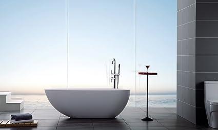 modern bathtub soaking bathtub freestanding bathtub solid rh amazon com modern bathtub shower modern bathtub shower