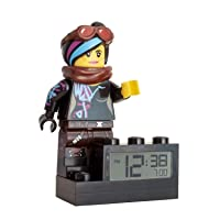 LEGO Movie 2 9003974 Wyldstyle Kids Minifigure Light Up Alarm Clock