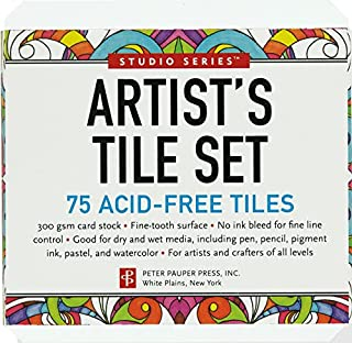 Studio Series Artist's Tiles: White (75 pack) (1441316310) | Amazon Products