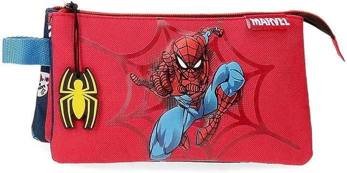 Estuche Spiderman Pop Tres Compartimentos: Amazon.es: Equipaje