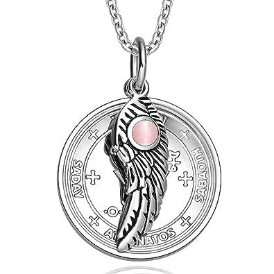 Buy Archangel Michael Sigil Amulet Magic Powers Angel Wing Charm